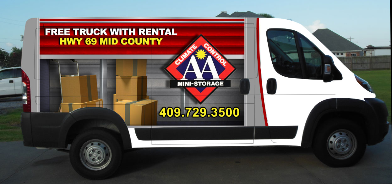 Free van use with rental storage Nederland